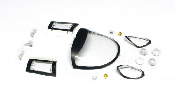 Scheiben u.Transparentteile f.Slotcars 1:24 BRM 88C