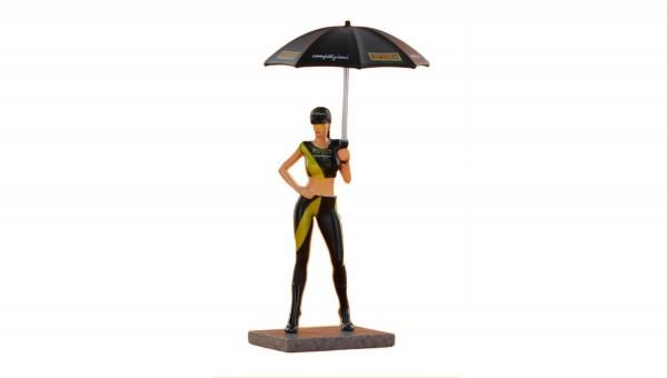 Figur Promo Girl P m.Sonnenschirm