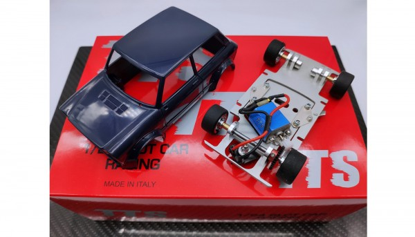 Slotcar 1:24 analog Bausatz TTS A112 Blue Kit