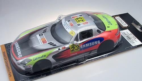 Karosserie 1:24 f.Slotcar SLS GT3 Jarama 2011 No. 23
