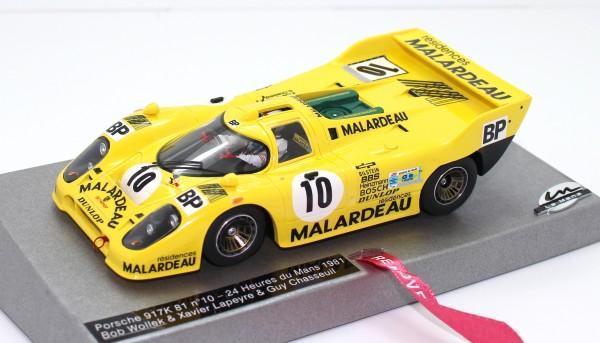 Porsche 917 Kremer Le Mans 1981 No. 10