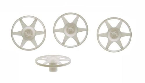 Felgeneinsätze Ø20mm 6-Spokes Plastik f.1:24