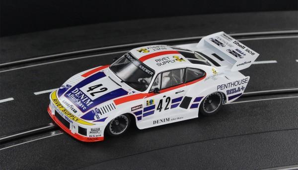 Slotcar 1:32 analog SIDEWAYS 935K2 Le Mans 1977 No. 42