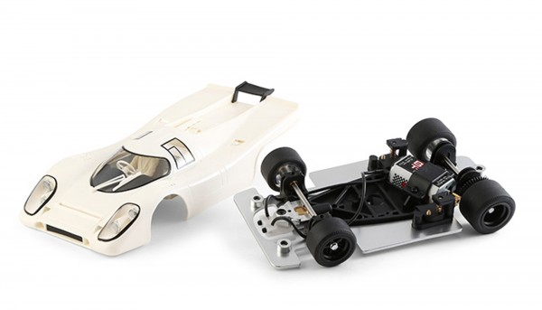 Slotcar 1:24 Bausatz analog 917K weiß