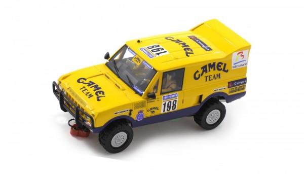 Slotcar 1:32 analog Raid 4x4 Rover PD Dakar 1987 No. 198