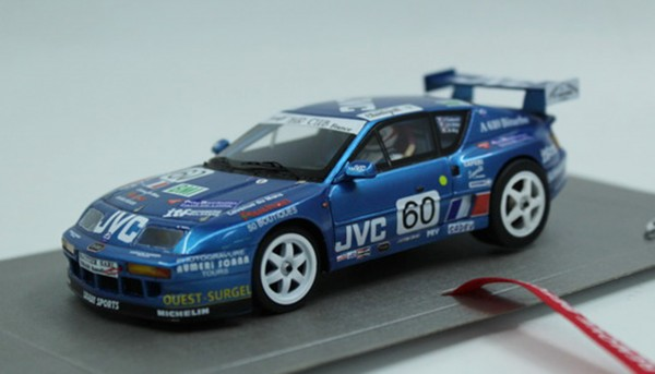 Slotcar 1:32 analog LE MANS MINIATURES A610 Le Mans 1994 No. 60 High Detail Resin Collectors Edition