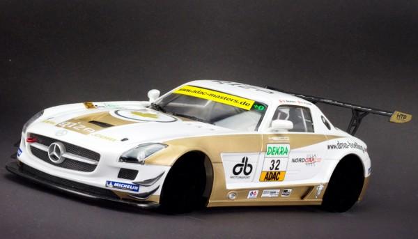 Karosserie 1:24 f.Slotcar SLS GT3 ADAC Master 2011 No. 32