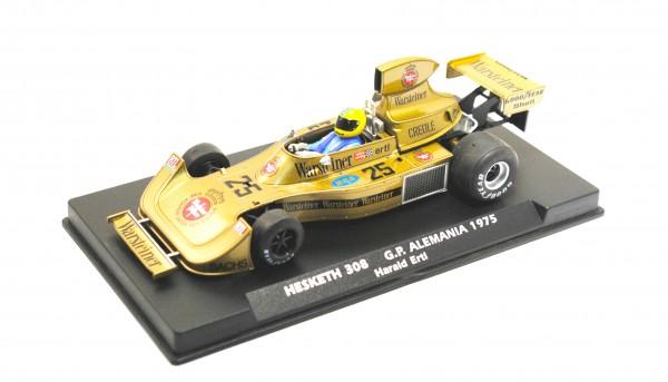 Slotcar 1:32 analog FLY 308 Grand Prix Germany 1975 No. 25
