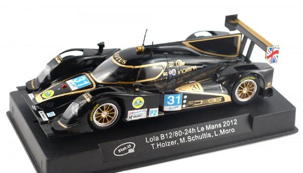 Slotcar 1:32 analog Slot.it B12/80 Le Mans 2012 No. 31