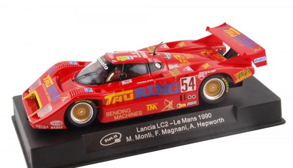 Slotcar 1:32 digital Lancia LC2-85 Le Mans 1990 No. 54 f.Scalextric Digital SSD
