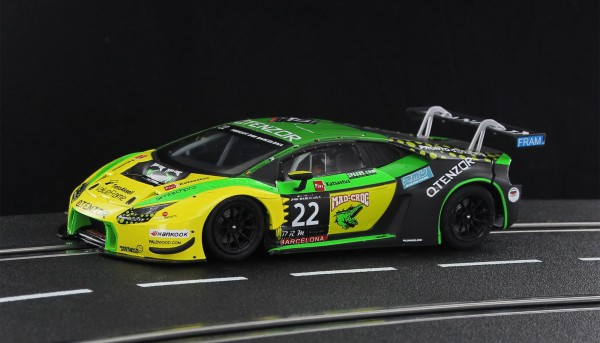 Slotcar 1:32 analog SIDEWAYS LBH GT3 No. 22