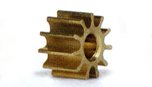 Motorritzel 10Z Ø5,5mm Messing f.Ø1,5mm
