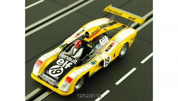Slotcar 1:32 analog LE MANS MINIATURES A442 Le Mans 1976 No. 19 High Detail Resin Collectors Edition