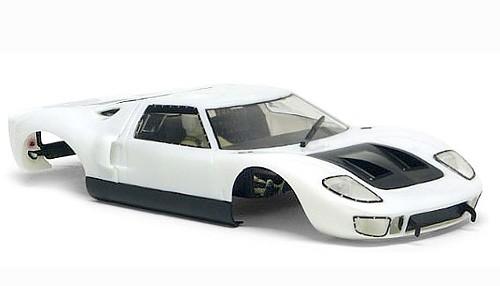 Karosseriebausatz Slot.it GT40 Kunststoff weiß f.Slotcars 1:32