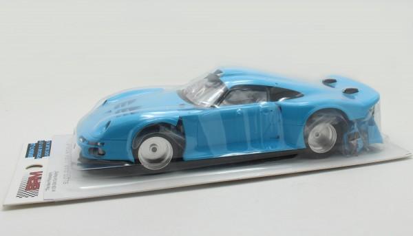 Slotcar 1:24 Bausatz analog GT1 blau