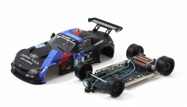 Slotcar 1:24 analog SCALEAUTO Z4 GT3 Nürburgring 2013 No. 20