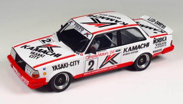 Standmodellbausatz 1:24 BEEMAX Volvo 240 Turbo Macau 1986 No. 2