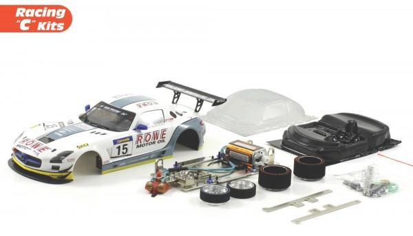 Slotcar 1:24 Bausatz analog Racing-RC2 Competition SLS GT3 Nürburgring 2011 No. 15