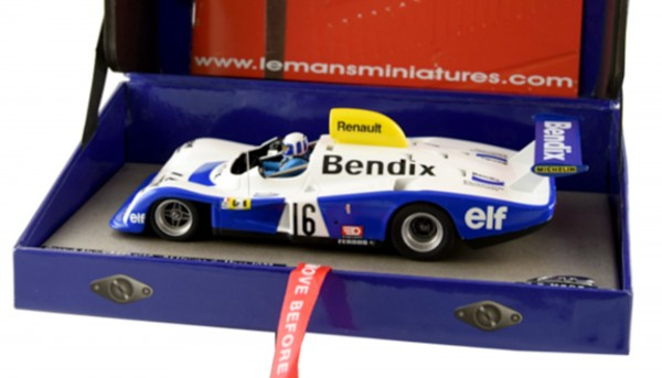 Slotcar 1:32 analog LE MANS MINIATURES A442 Le Mans 1977 No. 16 High Detail Resin Collectors Edition