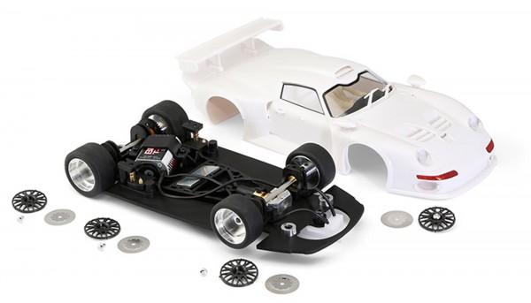 Slotcar 1:24 Bausatz analog BRM GT1 White Kit