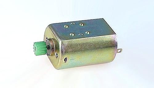 Motor Hippo 15000U/18V m.gehäuseseitiger Ø2mm Welle