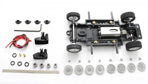Fahrwerksbausatz Sebring Series Universal S2 Race Set f.Radstand 69-102mm m.Motor u.Zubehör