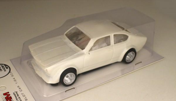 Slotcar 1:24 analog Bausatz BRM Kadett White Kit Typ A