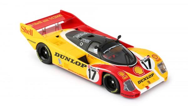 Slotcar 1:24 analog 962 Norisring 1987 No. 17