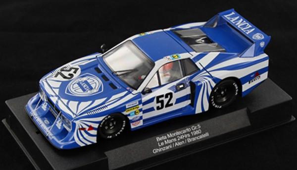 Slotcar 1:32 analog SIDEWAYS Beta Montecarlo Turbo Le Mans 1980 No. 52