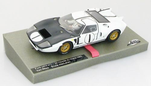 Slotcar 1:32 analog LE MANS MINIATURES GT40 MkII Le Mans 1965 No. 1 High Detail Resin Collectors Edition