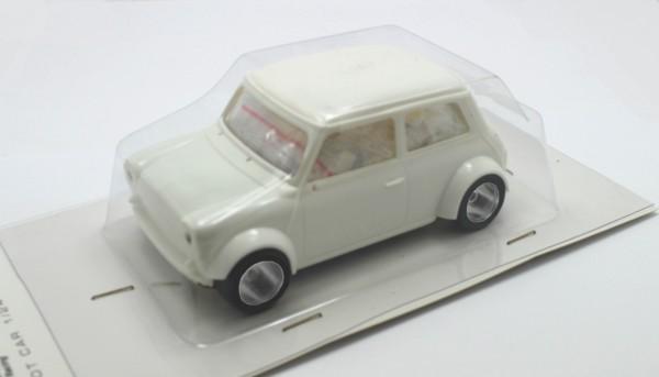 Slotcar 1:24 Bausatz analog BRM Cooper White Kit m.Classic-Räder