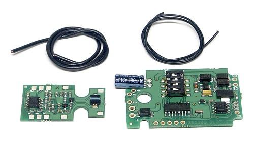 Fahrbahndecoder f.Weichenumrüstung Carrera Digital 132 u.Ninco N-Digital zum Betrieb m.Slot.it Digital Oxigen/O2
