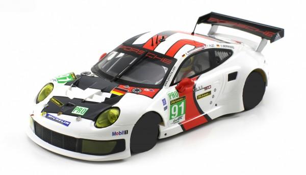 Karosserie 1:24 f.Slotcar P991 RSR Le Mans 2013 No. 91