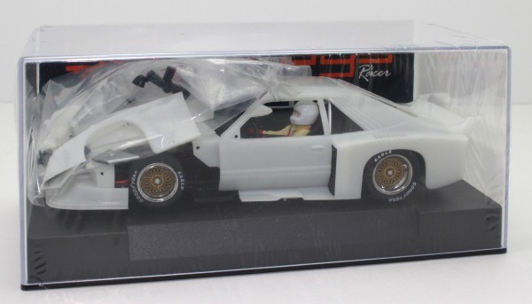 Slotcar 1:32 Bausatz analog SIDEWAYS Mustang Turbo White Kit