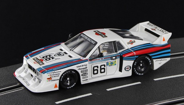 Slotcar 1:32 analog SIDEWAYS Beta Montecarlo Turbo Le Mans 1981 No. 66