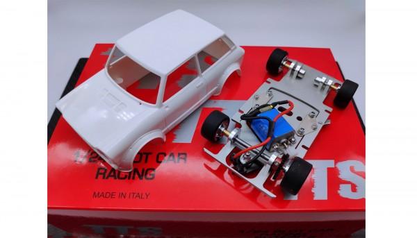 Slotcar 1:24 analog Bausatz TTS A112 White Kit