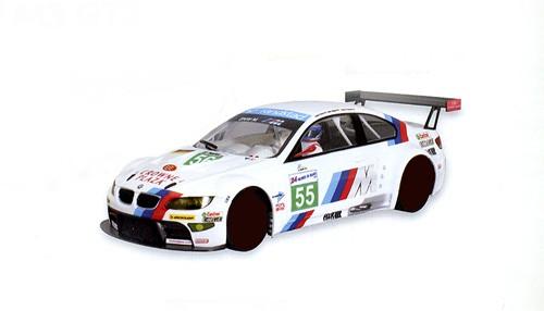 Karosserie 1:24 SCALEAUTO f.Slotcars SCALEAUTO M3 GTR Le Mans 2011 No. 55