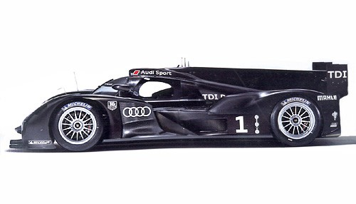 Slotcar 1:32 analog LE MANS MINIATURES R18 Presentation No. 1 High Detail Resin Collectors Edition
