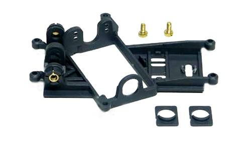 Motorhalter Anglewinder EVO6 Hard m.Achsträger 0,5mm Offset f.Motor Boxer/Flat