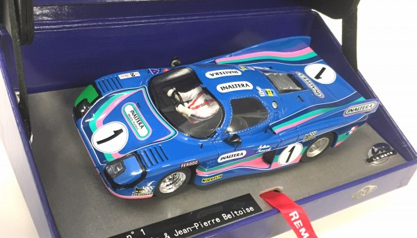 Slotcar 1:32 analog LE MANS MINIATURES Inaltera GT Le Mans 1976 No. 1 High Detail Resin Collectors Edition
