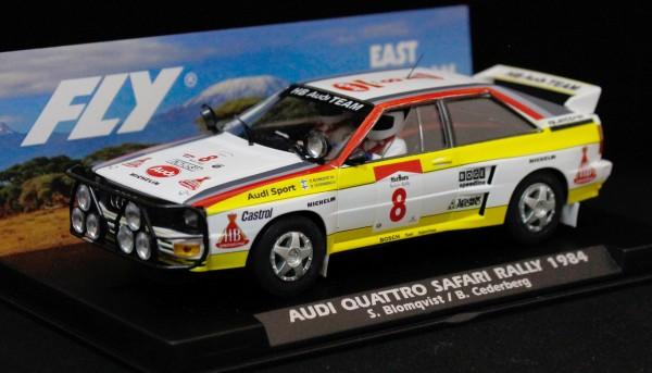 Slotcar 1:32 analog FLY A2 Rallye Safari 1984 No. 8