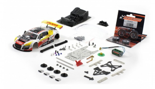 Slotcar 1:24 analog Bausatz SCALEAUTO Racing-RC2 Competition LMS GT3 Spa 2010 No. 73