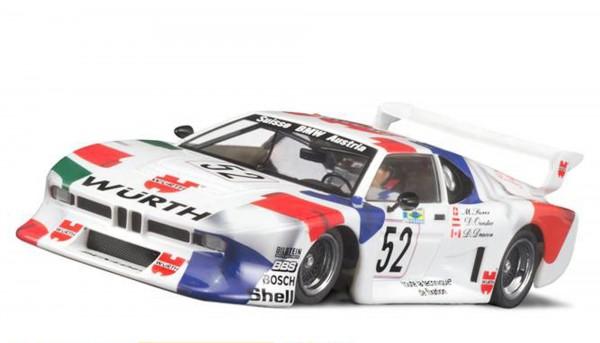 Slotcar 1:32 analog Racing-R M1 Gr.5 Le Mans 1981 No. 52