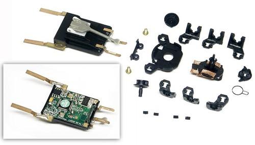 Fahrzeugdecoder HRS2 Fahrwerk inkl.Einbauteilesatz f.SCX The Digital System